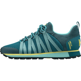 Helly Hansen Vardapeak V2 Sko Damer, deep lagoon/glacier blue/yellow pear